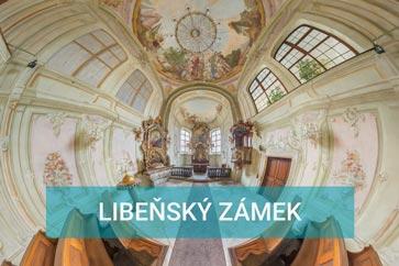 Libeňský zámek - kaple, obřadní síň