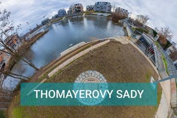 Thomayerovy sady Dock - River Watch