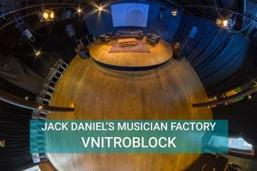 Vnitroblock - JACK DANIEL'S MUSICIAN FACTORY